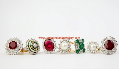 Diamond Cocktail Wedding Ring
