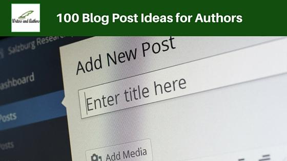 Blog post writers