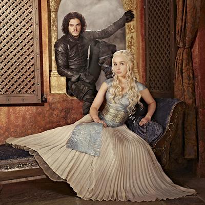 Daenerys Targaryen Emilia Clarke Entertainment Jon Nieve Kit Harington Weekly 3 - Juego de Tronos en los siete reinos
