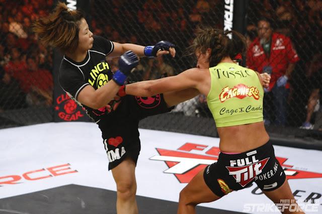 Miesha Tate vs Hitomi Akano