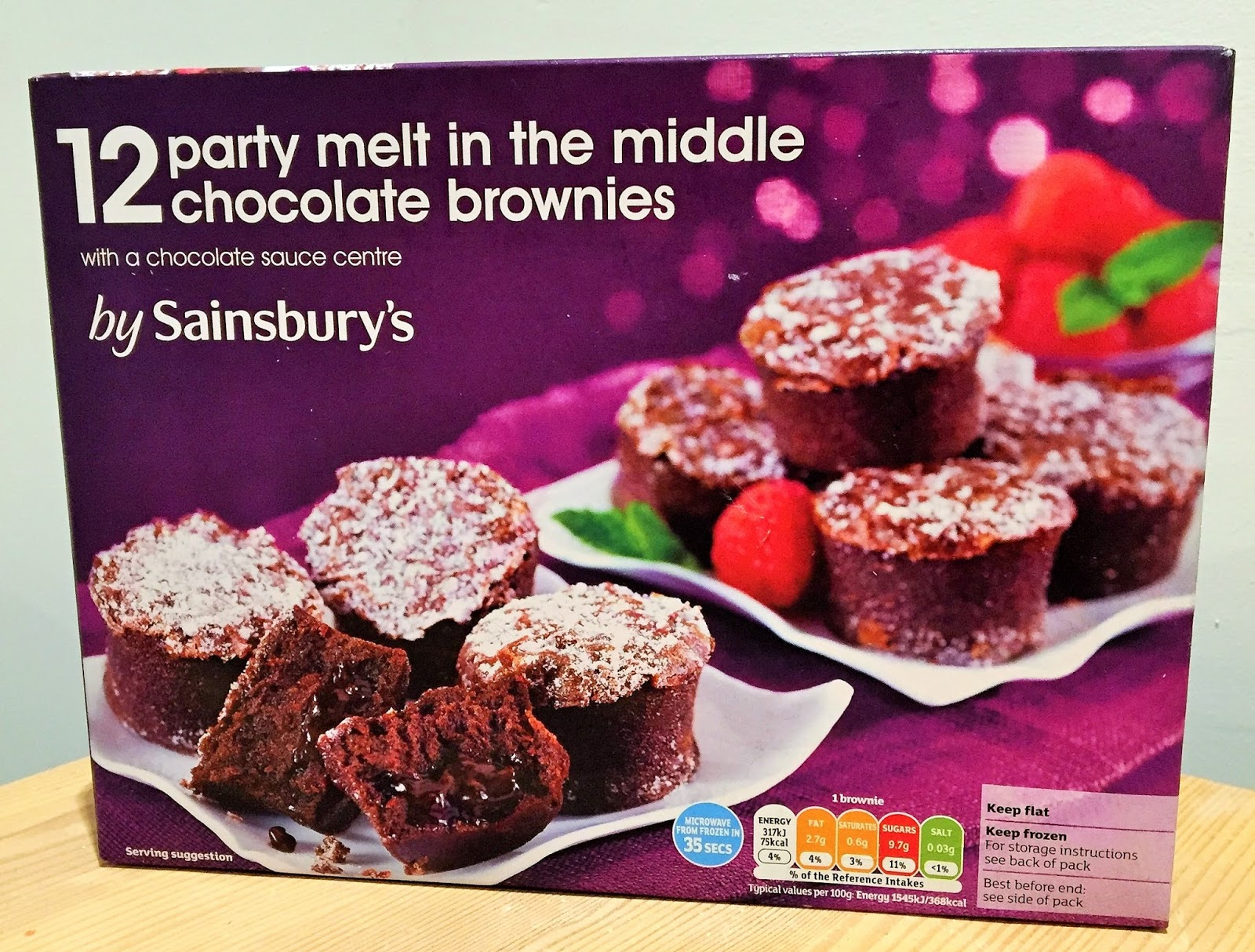 Archived reviews from amy seeks new treats party melt in for Canape cases sainsburys