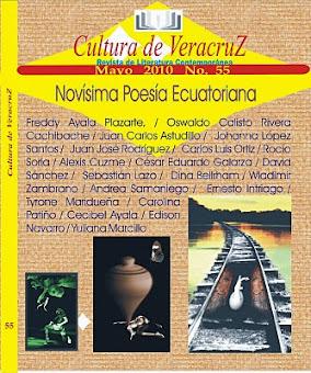 ANTOLOGÍA DE LA NOVÍSIMA POESÍA ECUATORIANA, EN MÉXICO