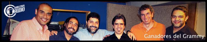 Grammy Latino para 9 ingenieros de audio venezolanos
