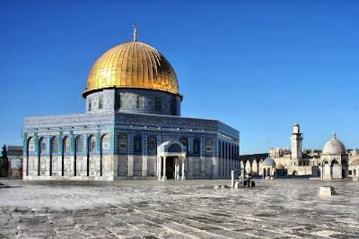 Cupula de la Roca, Explanada de las Mezquitas