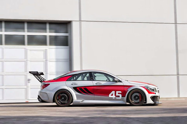 mercedes benz cla c117 racing