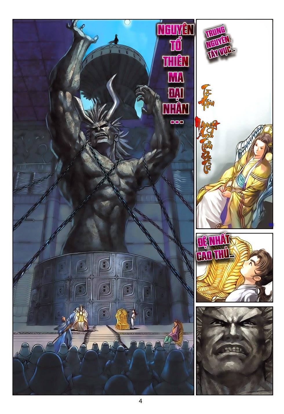 Thần Binh Tiền Truyện 4 - Huyền Thiên Tà Đế chap 13 - Trang 4