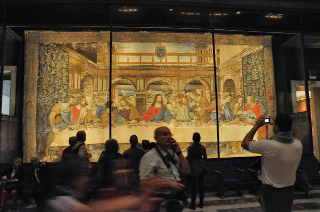 Tapestry of the Last Supper at the Vatican Museums