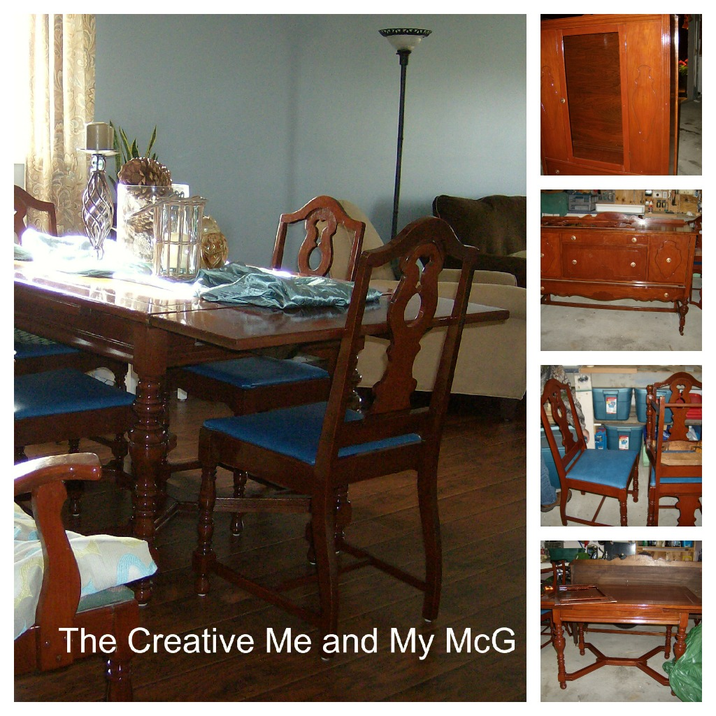 The creative me and my mcg dining room furniture for My dining room 9 course