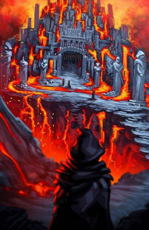 Alexander Cutri digitalcutti deviantart ilustrações fantasia ficção comics