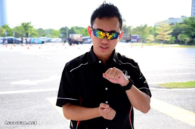"""The third Honda test instructor who would be bringing us """"drifting"""" in the Honda Civic"""