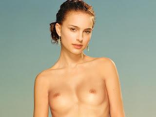 Natalie Portman topless in Maxim 2002 April