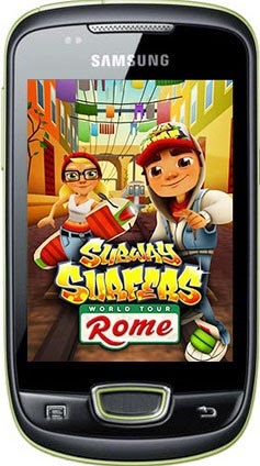 Subway Surfers For Samsung Galaxy Pop S5570 ! Working Smoothly