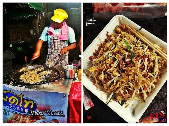 Pad Thai at Khaosan Road Bangkok