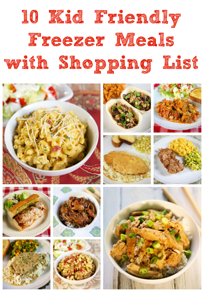 10 kid friendly freezer meals with shopping list plain chicken 10 kid friendly freezer meals with shopping list forumfinder Image collections