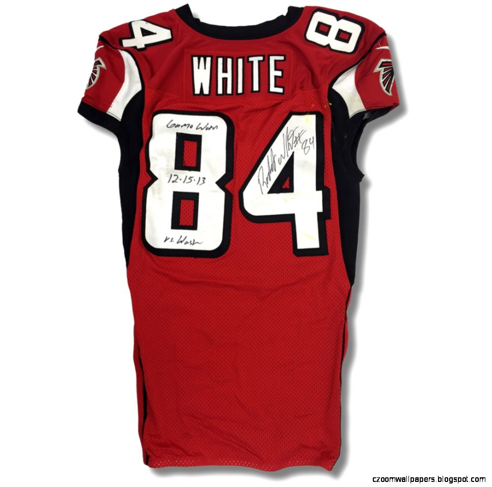 Lot Detail   Roddy White 2013 Atlanta Falcons Game Worn