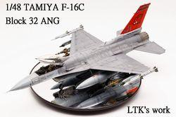 1/48 Tamiya F-16C BK32