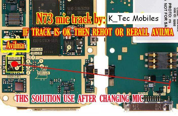 Nokia N73 Mic Problem Picture Help