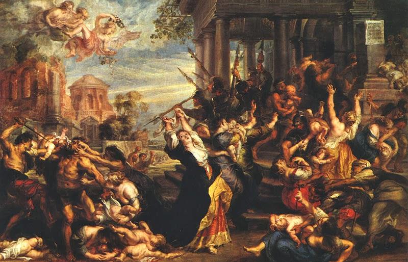 Rubens massacre of the innocents essay