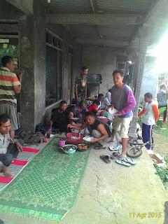 makan bersama di proyek