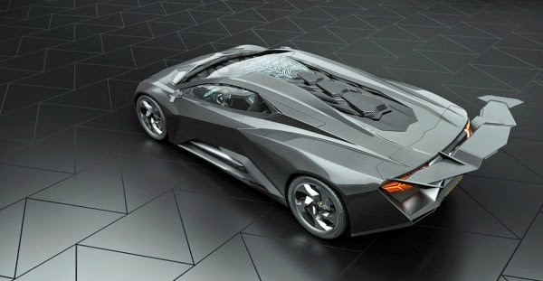 Lamborghini Phenomeno Super Veloce Concept Rear Wing