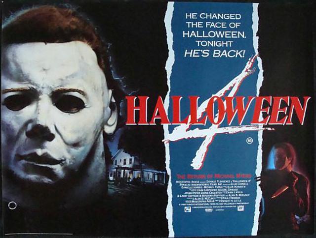 Movies Off My Shelf #21: Halloween 4: The Return of Michael Myers ...