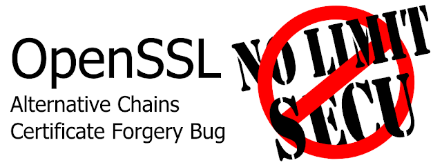 OpenSSL Alternative Chains Certificate Forgery