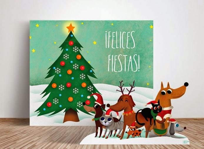 Celebra tus cenas de navidad de forma - Fondos para photocall ...