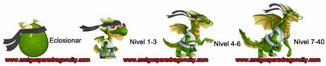 imagen del crecimiento del dragon artes marciales
