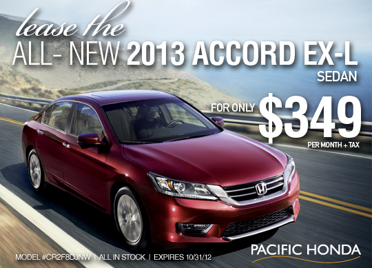 Pacific honda blog lease the 2013 accord ex l for 1 year car lease honda