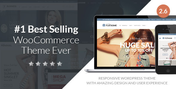 Free Download Flatsome V2.6.1 Responsive WooCommerce Wordpress Theme