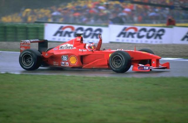 GP da Alemanha de Formula 1, Hockenheim em 2000 - pordentrodosboxes.blogspot.com