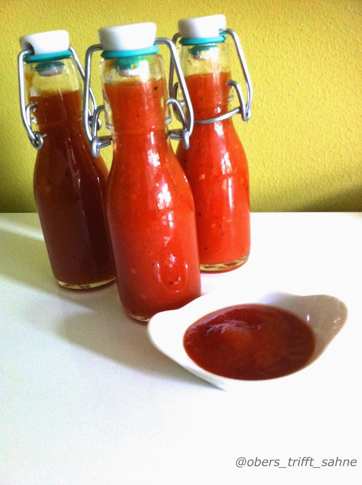 Ananasketchup mit Tomaten