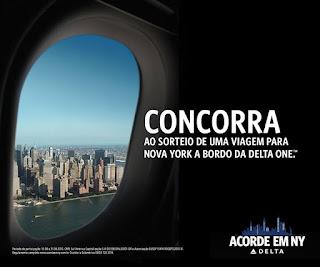 "Promoção ""Acorde em NY""  - Delta Little NY"