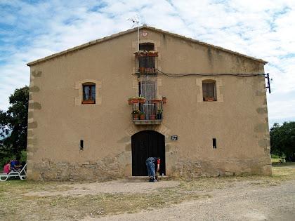 Façana principal de Claranès