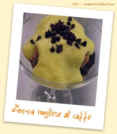 Cucina pasticci zuppa inglese al caff - Cucina e pasticci ...