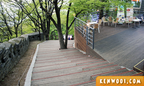 n seoul tower stairs