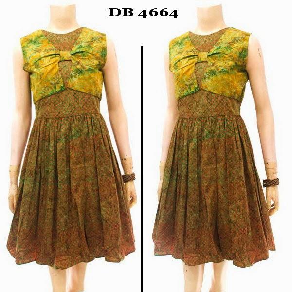 Baju Batik Dress