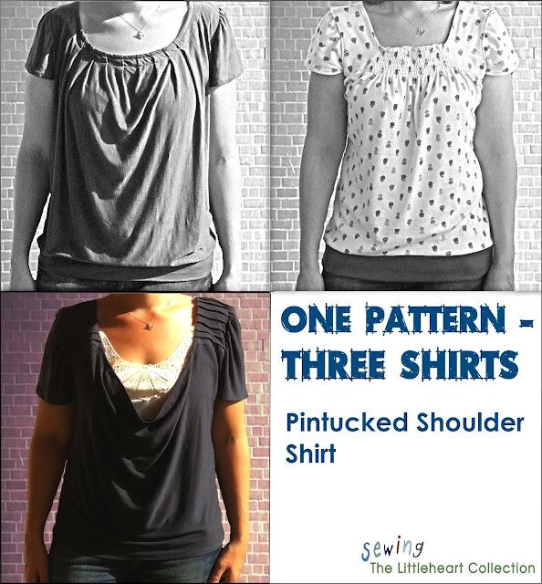 tshirt sewing pattern
