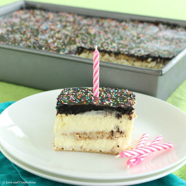 French Vanilla Eclair Cake from LoveandConfections.com