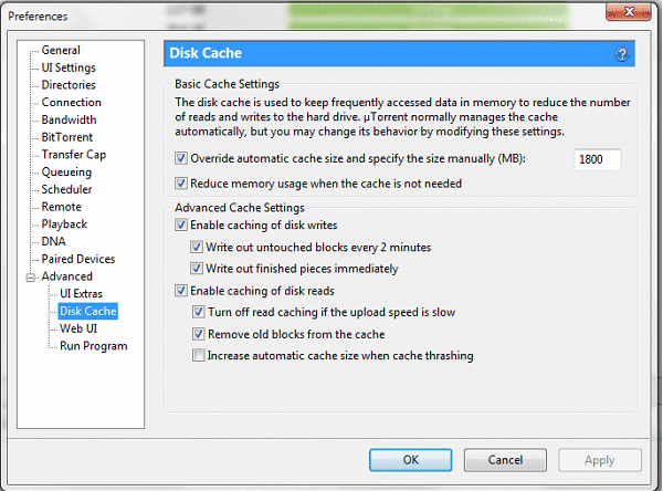 Cara Mempercepat Kecepatan Download uTorrent