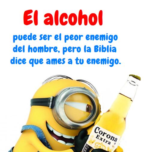 La codificación del alcohol en lide