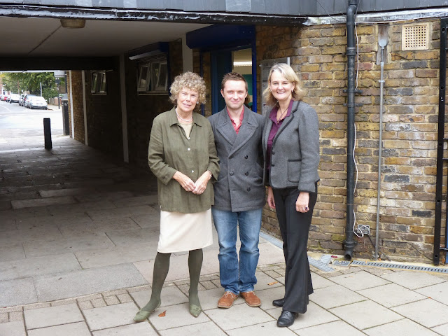 Paul Gadsby with Kate Hoey MP and Lib Peck on vassallview.com