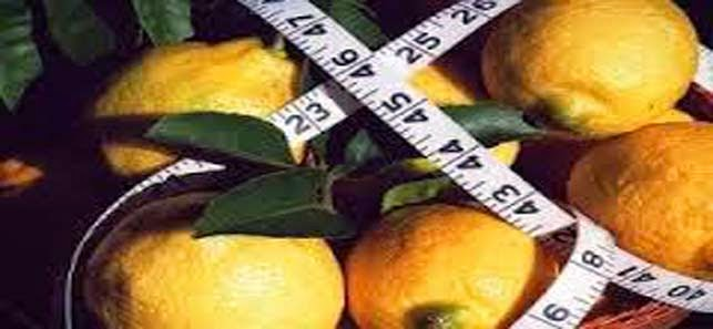 lemon juice to lose weight