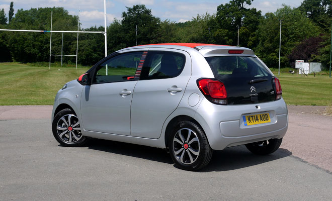 Citroen C1 Airscape rear view