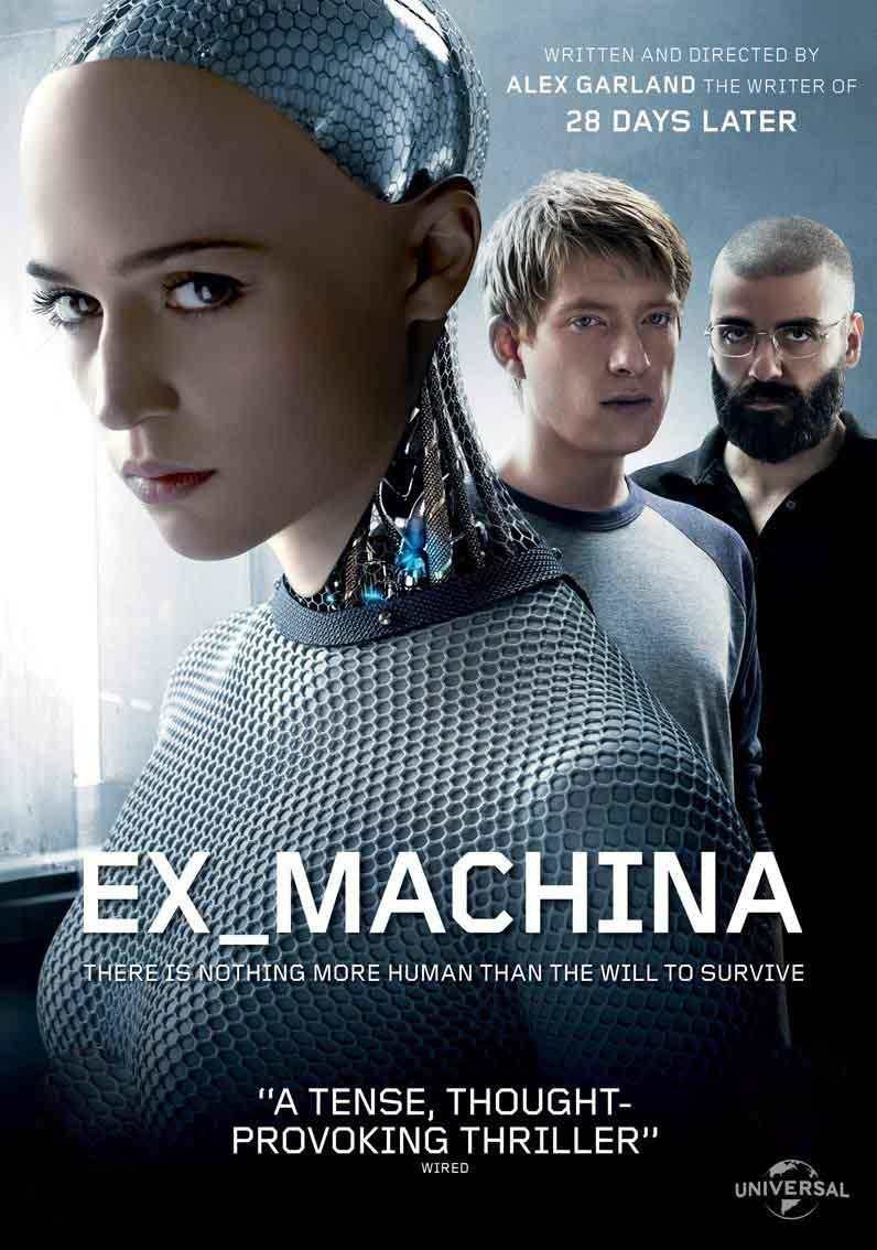 Ex Machina: Instinto Artificial Torrent - Blu-ray Rip 1080p Dual Áudio (2015)