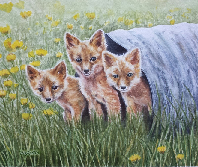 Three Brothers (watercolor) - sold