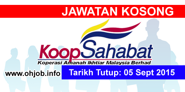 Jawatan Kerja Kosong Koperasi Amanah Ikhtiar Malaysia Berhad logo www.ohjob.info september 2015