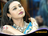 Indian Actress Rani Mukerji Unseen Saree Wallpapers