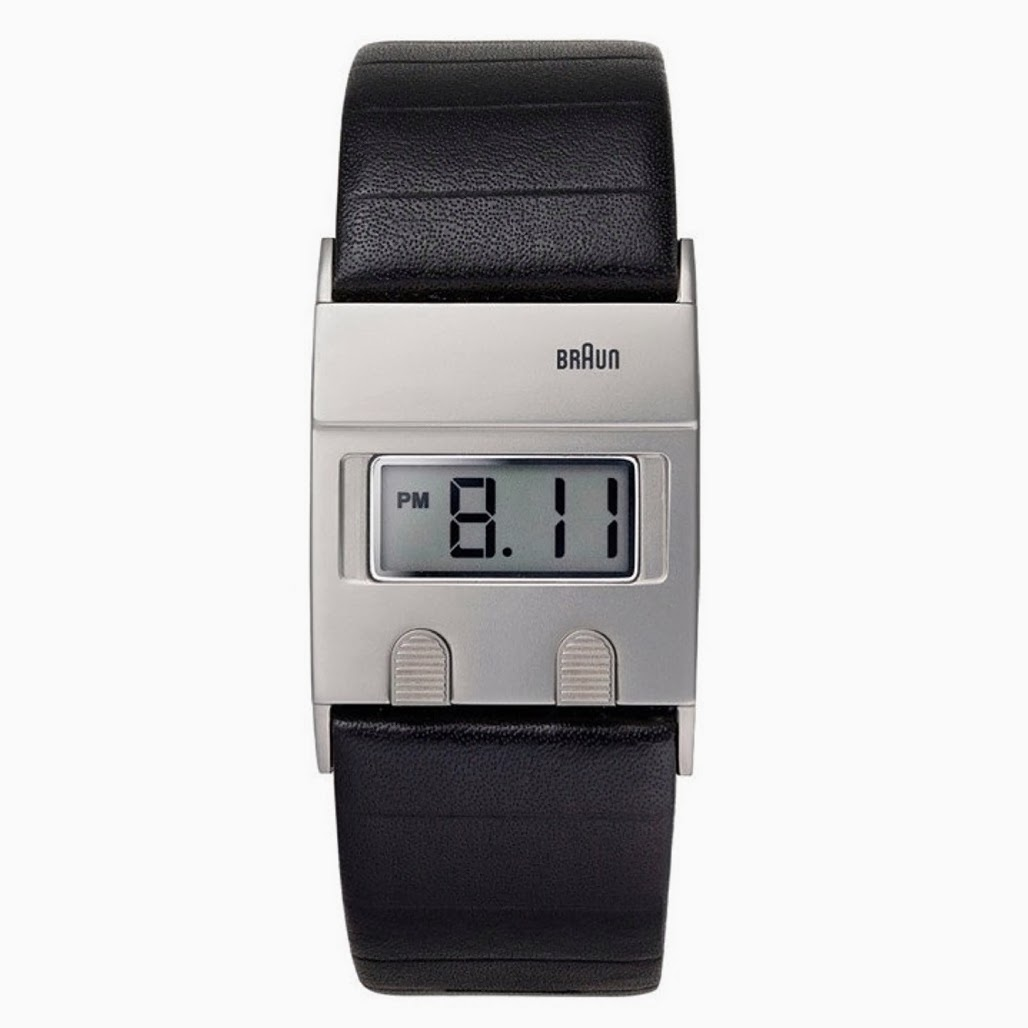 1978 Braun DW30 Digital Watch reissue, Dietrich Lubs & Dieter Rams