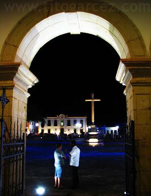 Praça São Francisco vista desde a Igreja de São Francisco, em São Cristóvão